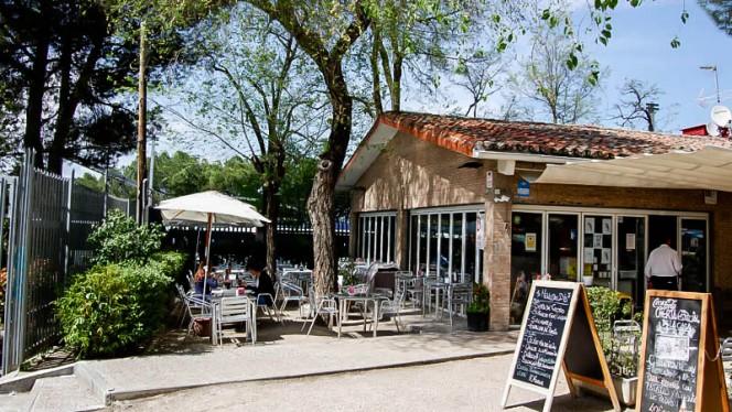 La entrada - Terraza el Parque Félix, Madrid
