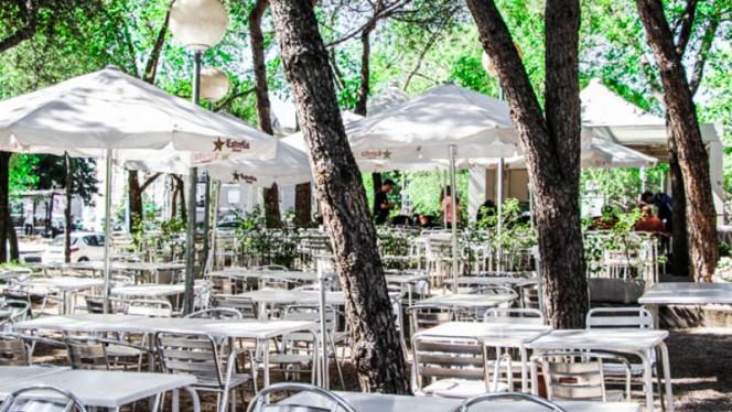 La terraza - Terraza el Parque Félix, Madrid