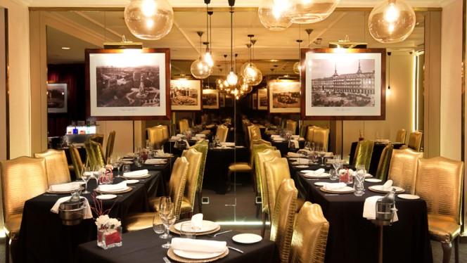 Vista Sala - GastroVía 61 – Hotel Mayorazgo, Madrid
