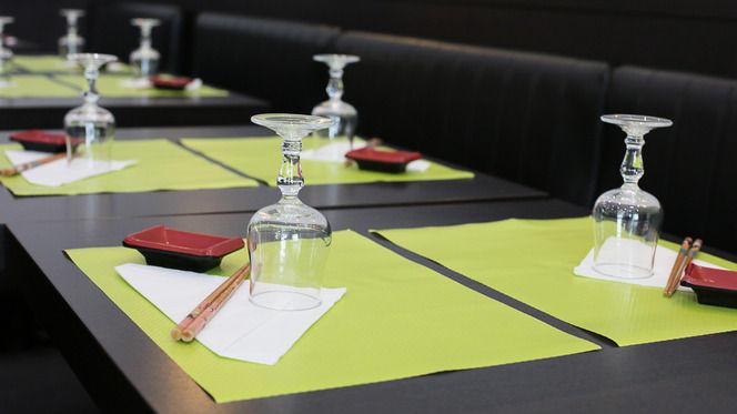 Détail de table - Yamato, Lyon