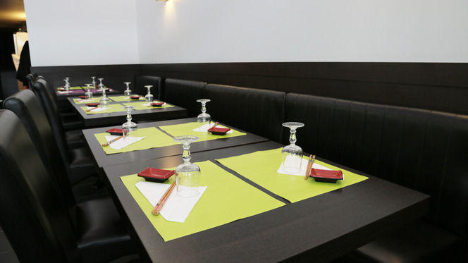 Tables dressées - Yamato, Lyon