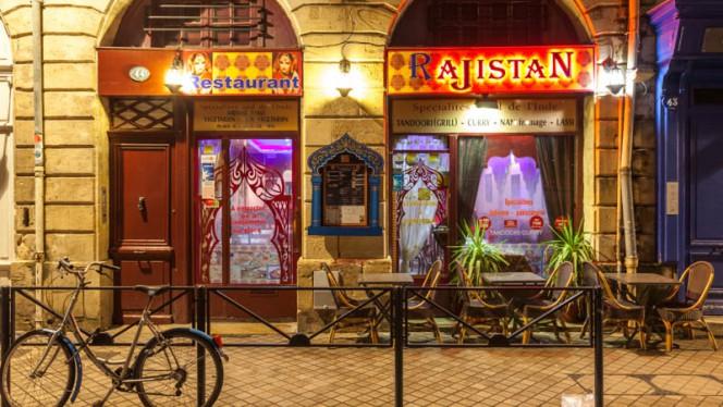 Devanture - Le Rajistan, Bordeaux