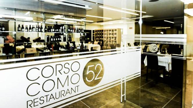 La entrata - Corso Como 52 Restaurant, Limbiate