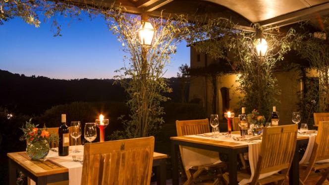 Cena a Lume di Candela - Osteria il Poggio, San Casciano In Val Di Pesa