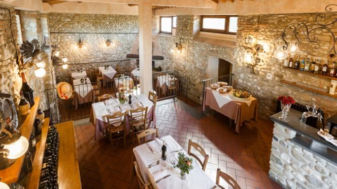 Sala interna - Osteria il Poggio, San Casciano In Val Di Pesa
