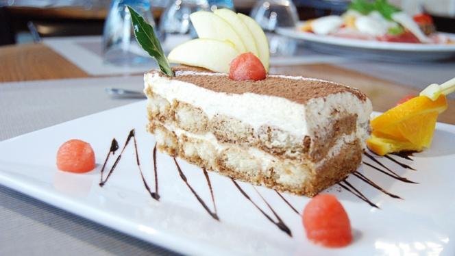 détail dessert - Gusto Italia, Paris
