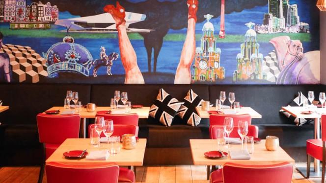 Restaurant - Graham's Kitchen, Amsterdam