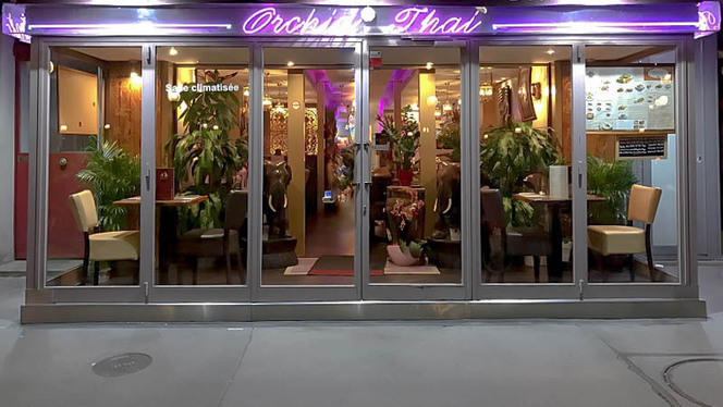 Devanture - Orchid Thai, Paris