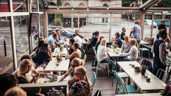 Outdoor seating - Odyssea in Loco, Göteborg
