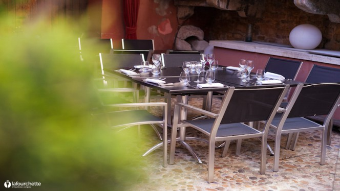 Vue de la salle - Restaurant La Tour Rose, Lyon
