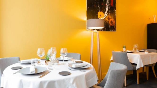 Vue de l'intérieur - Le Zeste Gourmand, Lyon