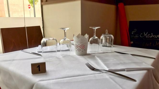 Table dressée - Le Maharadja, Carouge