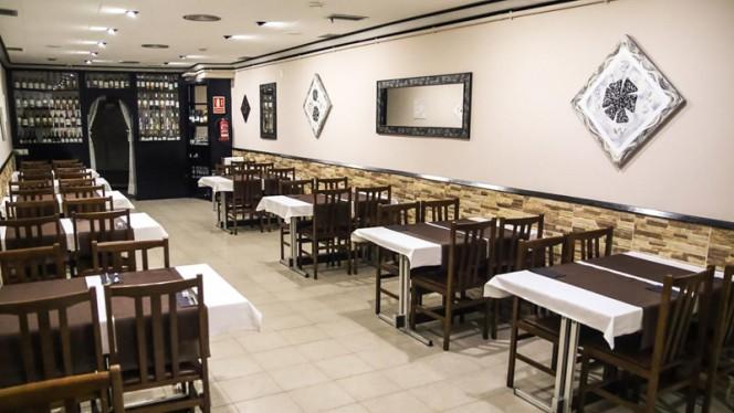 Sala del restaurante - Shiraz, Barcelona