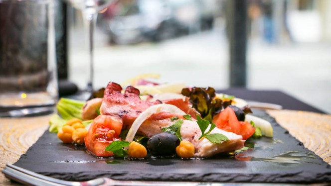 Salada de Polvo - Arte da Baixa, Porto
