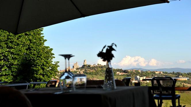 Vista di San Gimignano - Villa Ducci, San Gimignano