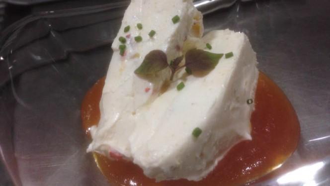 Pastel de queso y verduritas con mermelada de tomate - Alia Die, A Coruña