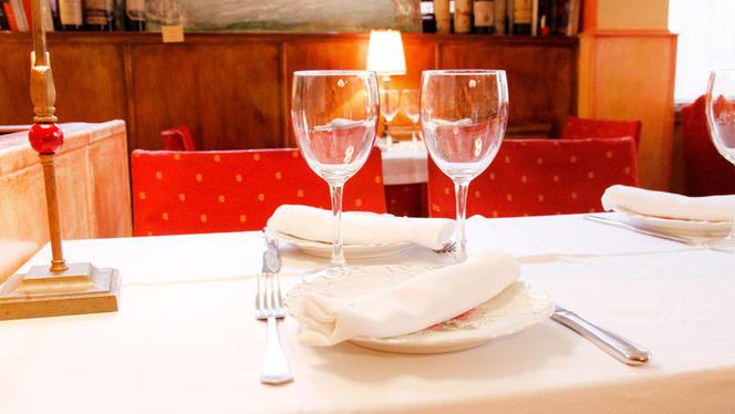 Vista mesa interior - Casa Ormaza, Madrid