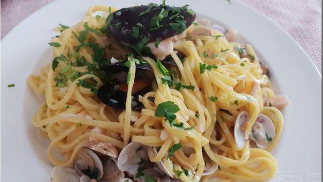 spaghetti mare - Osteria Borgo Marina, Rimini
