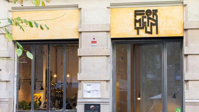 Fachada - Fermentum, Barcelona