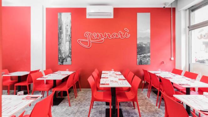 Veduta dell interno - Pizzeria Gennarì - Umbria, Milan