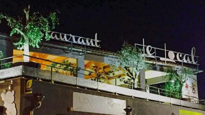 façade du restaurant - Le Local, Bouc-Bel-Air