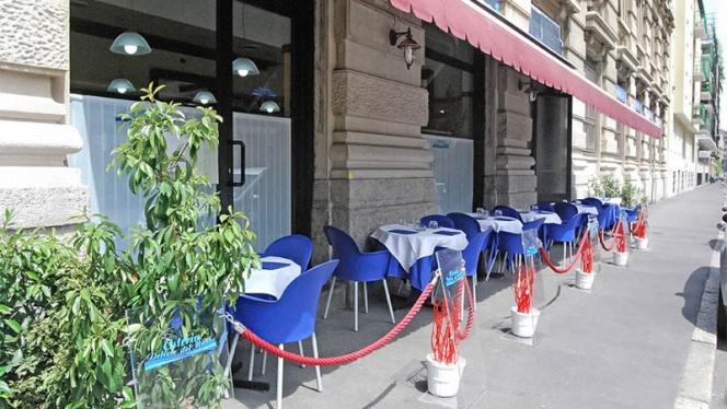 entrata - Osteria Delizie del Mare, Milan