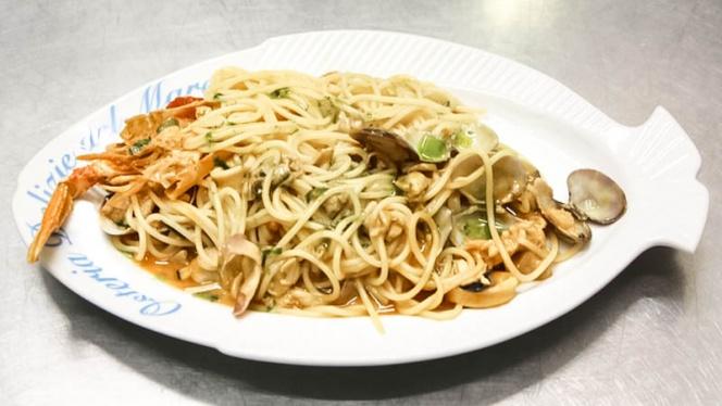 spaghetti - Osteria Delizie del Mare, Milan