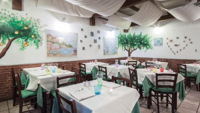 Sala del ristorante - Ambasciata di Capri, Roma