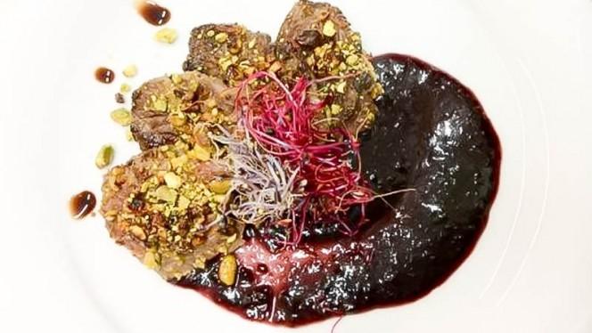 carne con pistacchio - Rue, Rome