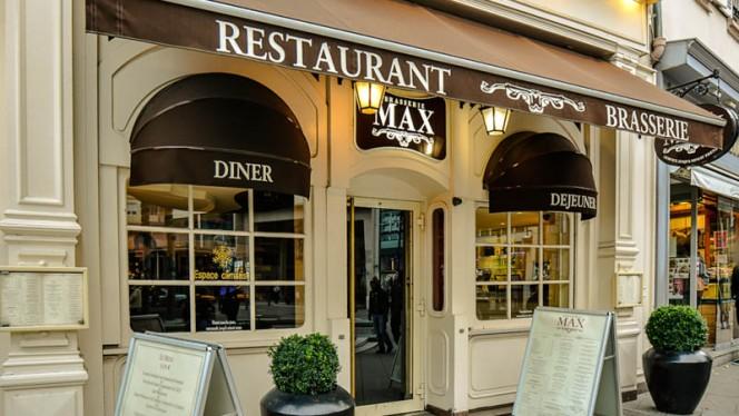 Devanture - Brasserie Max, Strasbourg