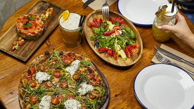 Sugerencia plato - Massa Pizza, Madrid