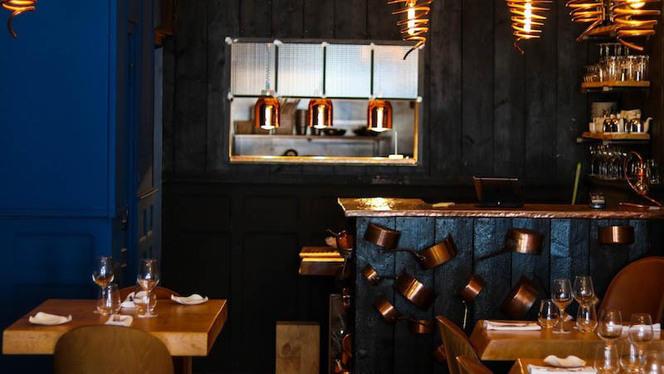Salle du restaurant - Le Loup, Bordeaux