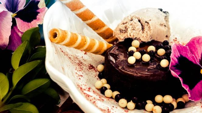 Coulant de chocolate - niMÚ Azotea, León