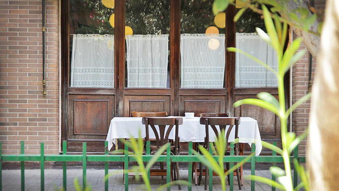 detalle terraza - La Malquerida, Valencia