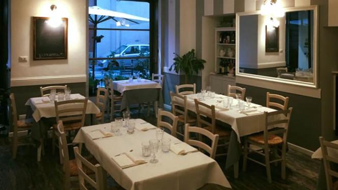 Vista sala - Fiori e caffè, Turin