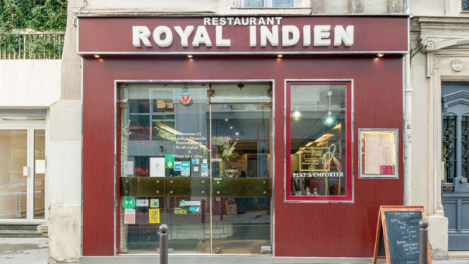 Devanture - Royal Indien, Paris