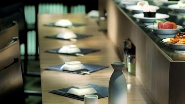 Table dressée - Matsuri Bac, Paris