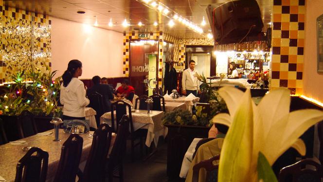 Restaurantzaal - Indian Restaurant Gandhi, Amsterdam