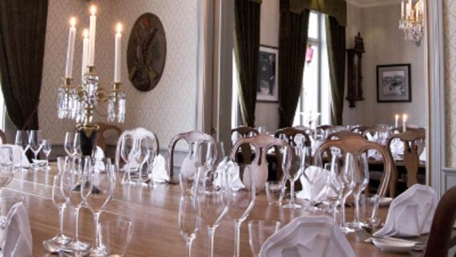 Dining room view - Sir Winston Upstairs, Östersund