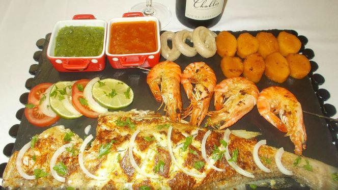 poisson grillé - Restaurant Africain Aboussouan, Nantes