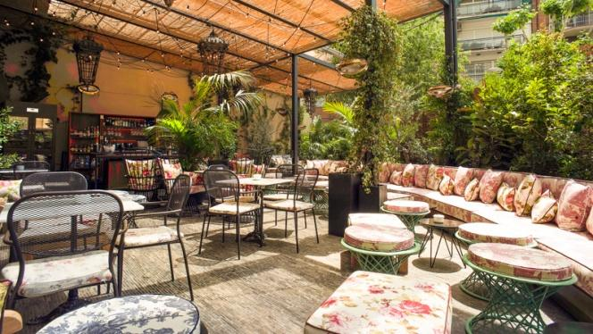 vista terraza - Chez Cocó, Barcelona