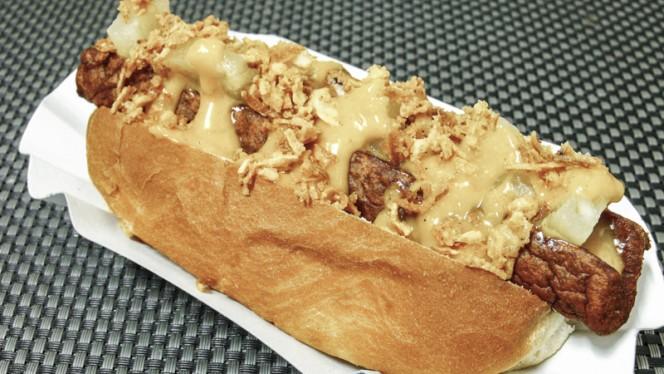 Hot Dog OP11 - Taberna Belga OP11, Madrid
