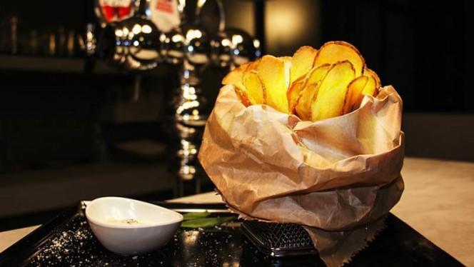 Le chips cacio e pepe - Bistrot 34, Civitavecchia