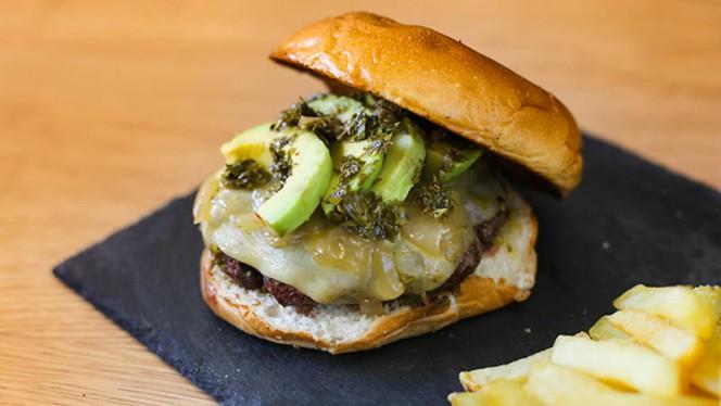 Hamburguesa Gaucha - Tayo Fusión Burger, Madrid
