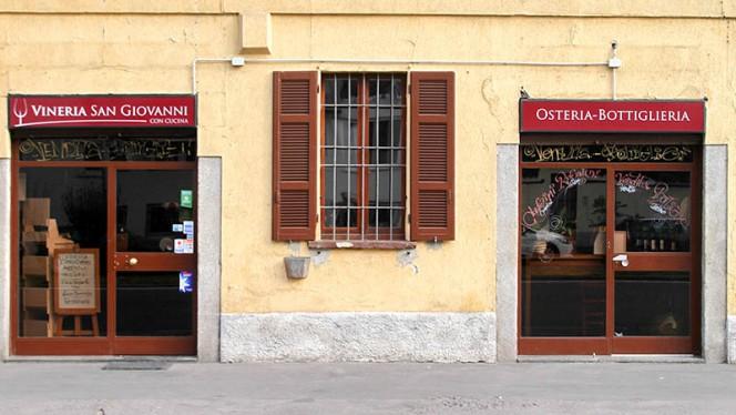 Entrata - Vineria San Giovanni, Milan