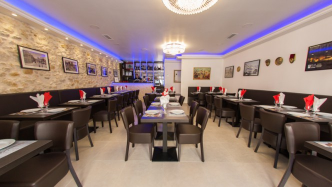 Salle de restaurant - Wadina, Marseille
