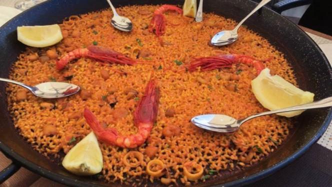 Sugerencia de plato - Albufera, Valencia