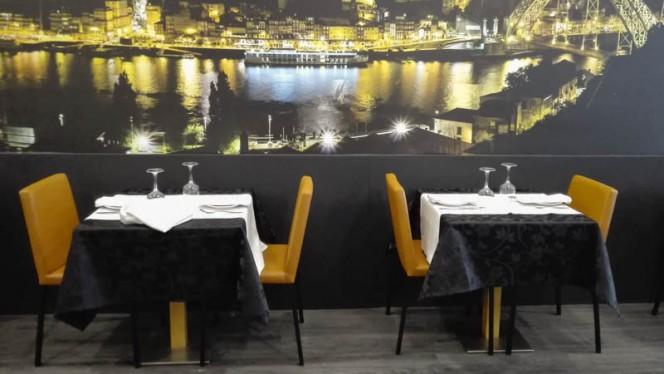 Vista da sala - Marisqueira da Baixa, Porto
