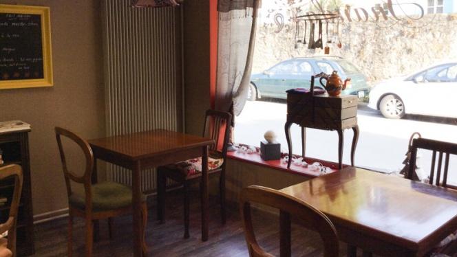 Vue salle - Ananda Café Boutique, Neuchâtel