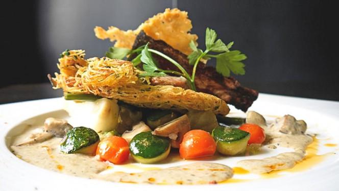 Nos délices de produits du marchés - L'Effet Bœuf, Mons